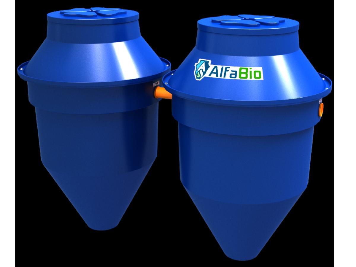 Автономная канализация (септик) Alfa Bio 2.4